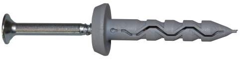 kraagplug 8 x 51 mm (kraag ø 20 mm)