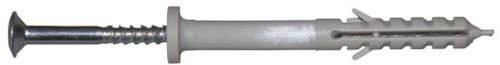 montageplug 8 x 60 mm (met kraag)