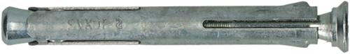 metalen kozijnplug 10 x 182 mm