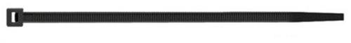 kabelbinder 2,5 x 200 zwart