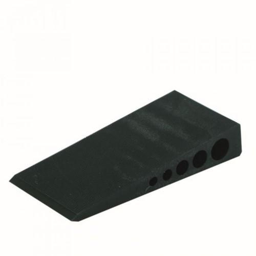 wiggen 100x45x18 zwart (zak 50 st)